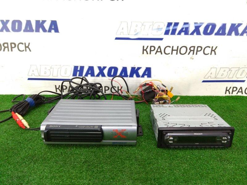 Магнитола Peugeot 206 2A/C TU5JP4 2003 MDX-F5800PG магнитола SONY MDX-F5800PG, 1 DIN, AM/FM/MiniDisc + чейнджер SONY