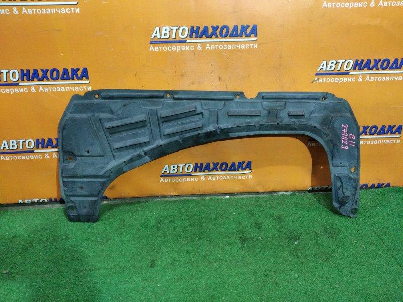 Защита двс Nissan Tiida SC11 HR15DE передняя 75892-ED000