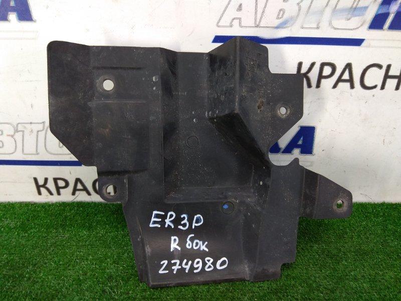Защита двс Mazda Cx-7 ER3P L3-VDT 2006 передняя правая правая, боковая