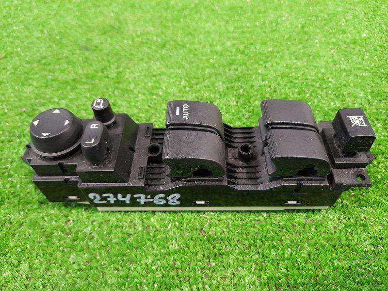 Блок управления стеклоподъемниками Mazda Axela BL5FW ZY-VE 2009 передний правый B3866350A FR