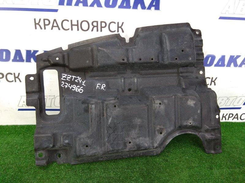 Защита двс Toyota Caldina ZZT241W 1ZZ-FE 2005 передняя правая правая