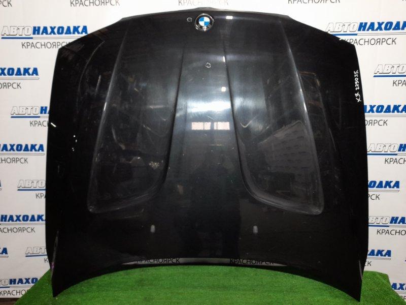 Капот Bmw X3 E83 N52B25A 2006 передний Цвет 475, есть мелкие сколы ЛКП, мелкая вмятинка (см.фото).