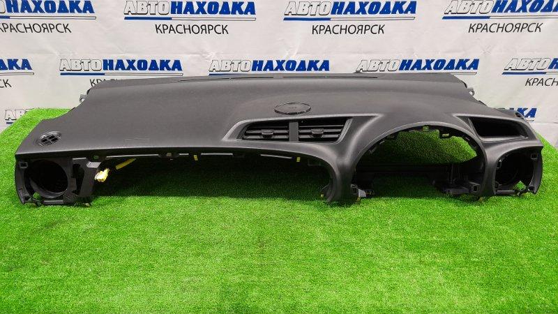 Airbag Toyota Vitz KSP130 1KR-FE 2010 пассажирский (верх панели), с подушкой, без заряда, черный (