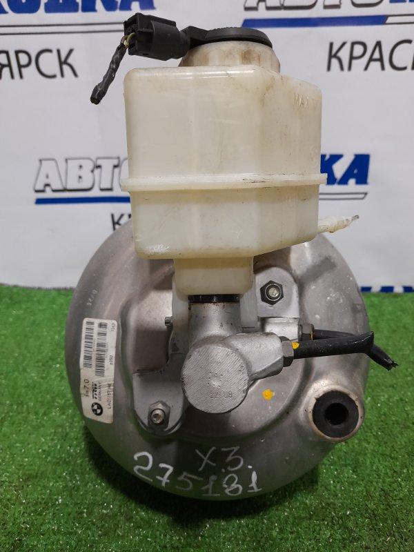 Главный тормозной цилиндр Bmw X3 E83 N52B25A 2006 с вакуумником и бачком (правый руль)