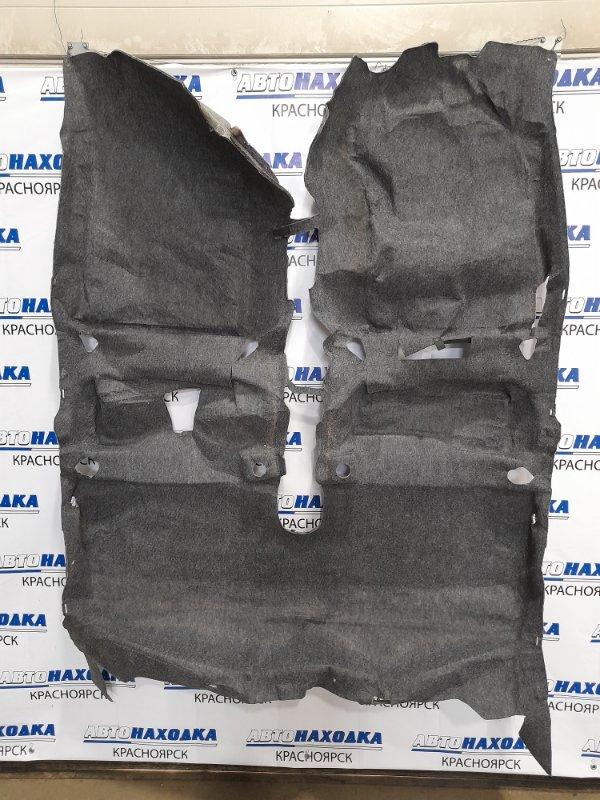 Обшивка пола Toyota Vitz KSP130 1KR-FE 2010 ковровое покрытие пола в салон. ХТС