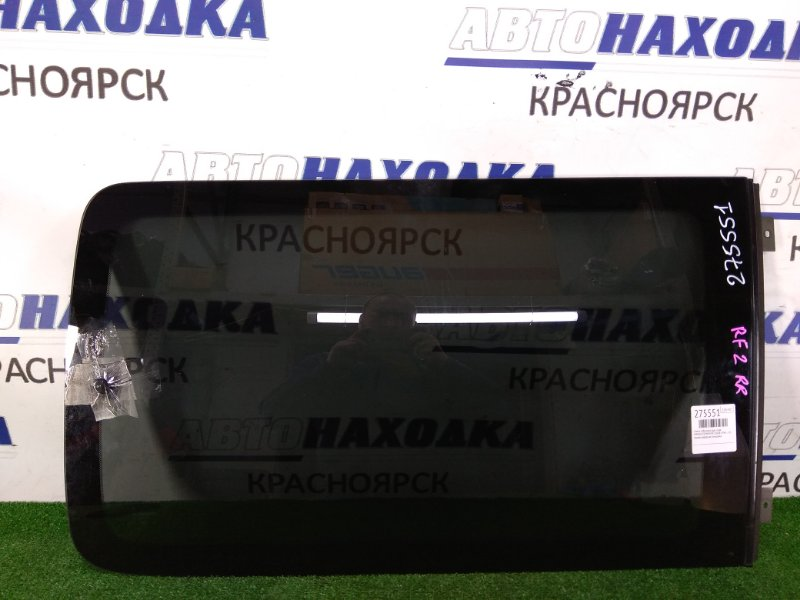 Стекло собачника Honda Stepwgn RF2 B20B 1996 заднее правое правое, заводская тонировка