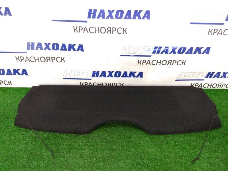 Полка багажника Peugeot 206 2A/C TU5JP4 2003 задняя жесткая полка в багажник, черная