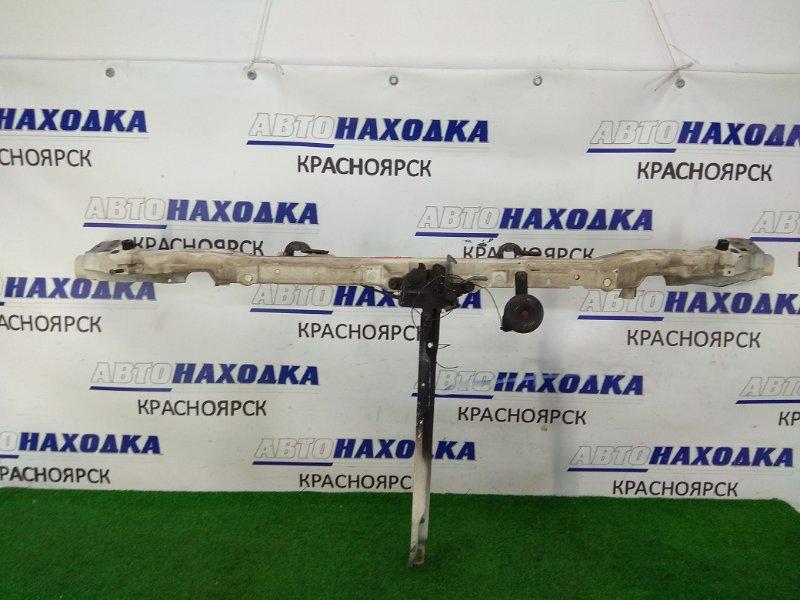 Рамка радиатора Toyota Lite Ace KR42V 7K 1996 верхняя верхняя часть, с замком и центральной