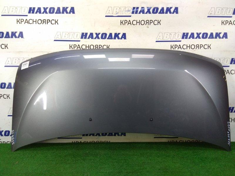 Капот Mazda Bongo Friendee SGEW FE-E 2001 передний серый (25G), 2 потертости до металла