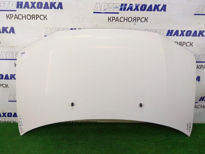 Капот Toyota Lite Ace KR42V 7K 1996 передний белый (058)