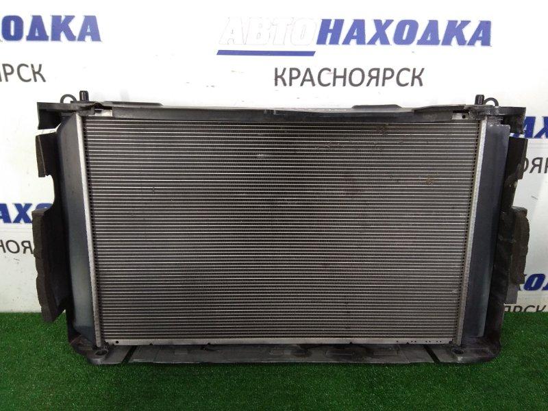 Радиатор двигателя Toyota Estima ACR50W 2AZ-FE 2006 в сборе с диффузором и вентиляторами