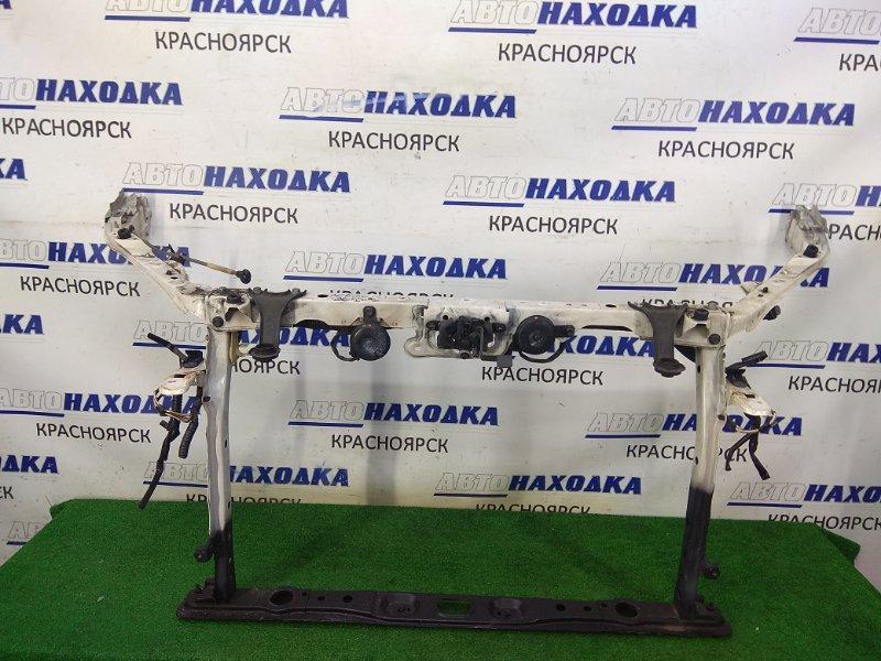Рамка радиатора Toyota Estima ACR50W 2AZ-FE 2006 передняя с замком, с сигналами, с упором капота, с