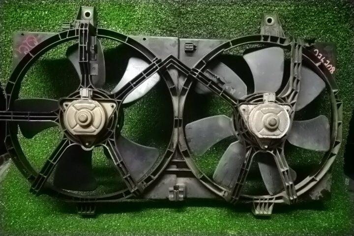 Вентилятор радиатора Nissan Wingroad WFY11 QG15DE +ВЕНТИЛЯТОРЫ