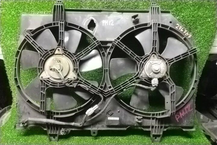Вентилятор радиатора Nissan Liberty PM12 SR20DE +ВЕНТИЛЯТОРЫ