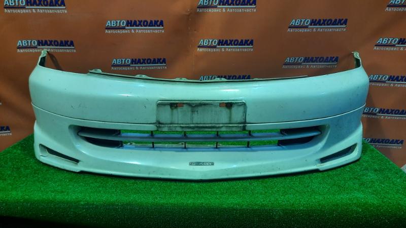Бампер Honda Stream RN3 K20A передний 71101-S7A-ZZ00 +ГУБА MUGEN