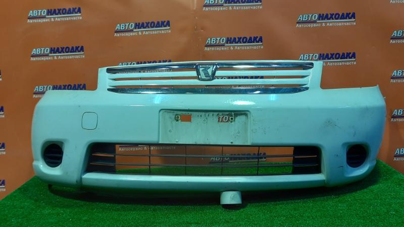 Бампер Toyota Raum NCZ20 1NZ-FE 04.2003 передний 52119-46090 +ЗАГЛУШКИ