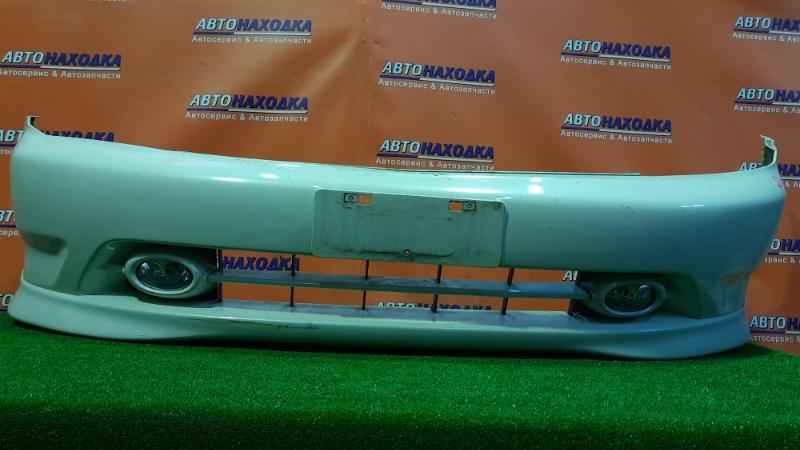 Бампер Honda Stream RN1 D17A 2001 передний 71101-S7A-ZZ00 +ГУБА, +ТУМАНКИ 19034
