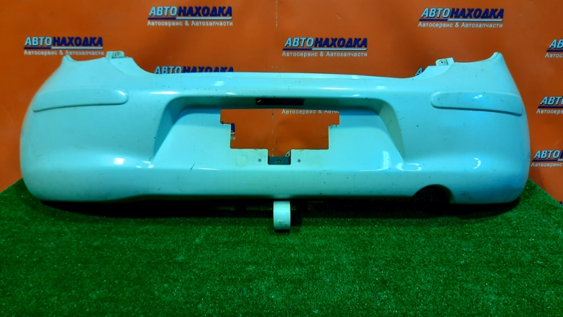 Бампер Nissan March K13 HR12DD задний 85022-1HJ0H