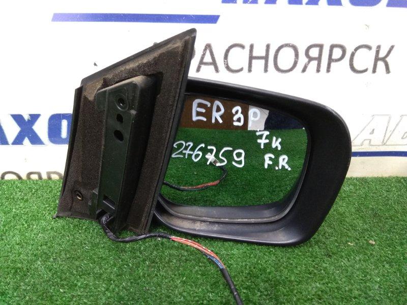 Зеркало Mazda Cx-7 ER3P L3-VDT 2006 переднее правое правое, бордовое (32V), 7 контактов, с