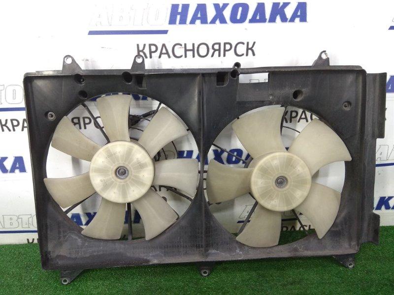 Вентилятор радиатора Mazda Cx-7 ER3P L3-VDT 2006 диффузор с двумя вентиляторами