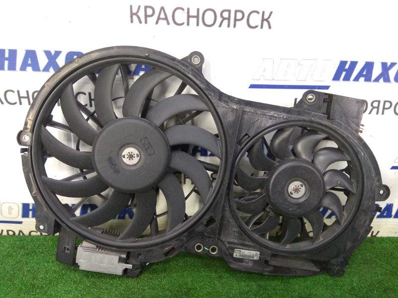 Вентилятор радиатора Audi A6 C6 AUK 2004 диффузор с двумя вентиляторами и блоком