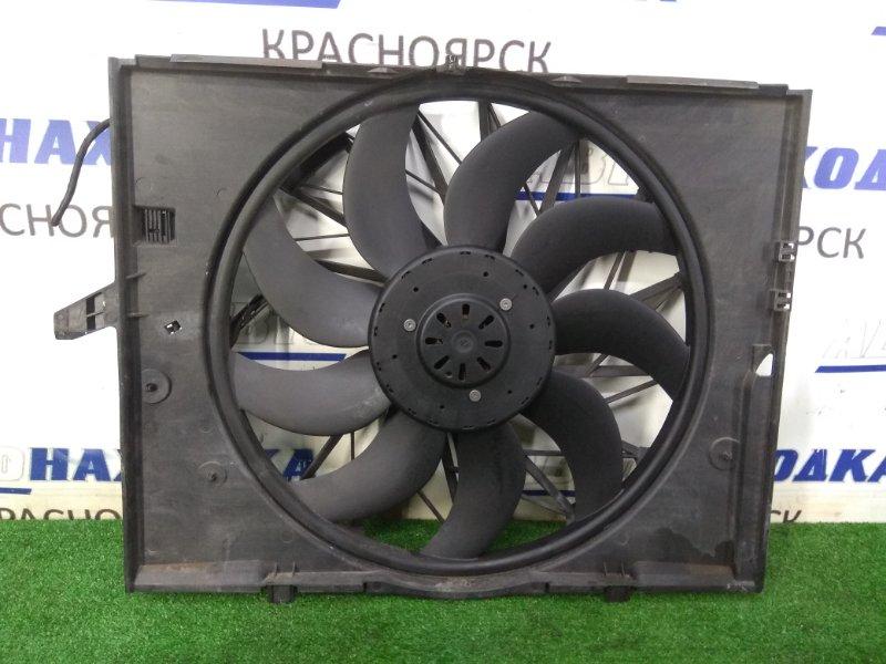 Вентилятор радиатора Bmw 525I E60 N52B25 2003 757890 с диффузором