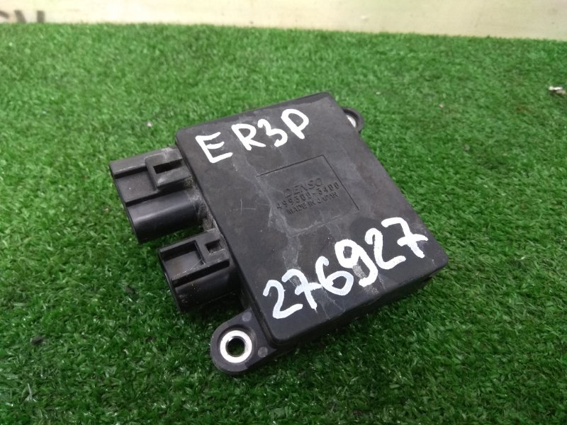 Блок управления вентилятором Mazda Cx-7 ER3P L3-VDT 2006 499300-3400 блок управления вентилятором