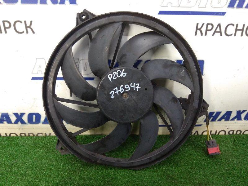 Вентилятор радиатора Peugeot 206 2A/C TU5JP4 2003