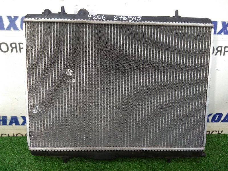 Радиатор двигателя Peugeot 206 2A/C TU5JP4 2003