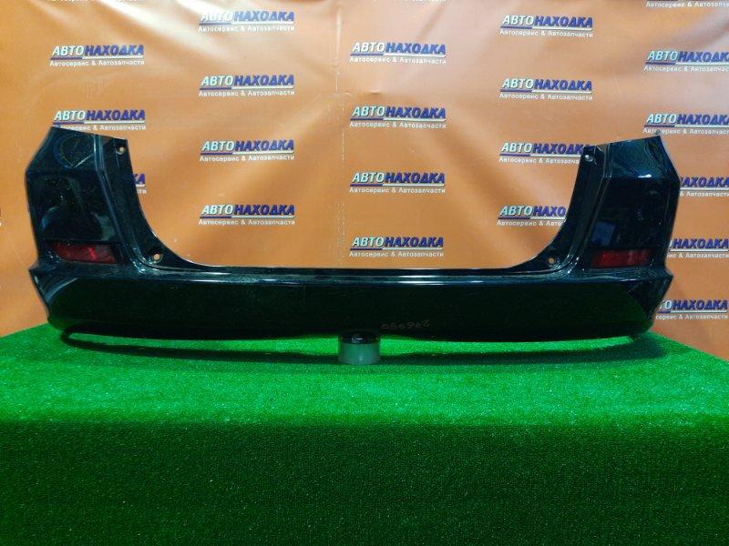 Бампер Honda Fit Shuttle GP2 LDA задний 71501-TF7-0000 СЛОМАНЫ ЗАСТЕЖКИ ПОД КЛИПСУ , С ЛЕВОЙ СТОРОНЫ.
