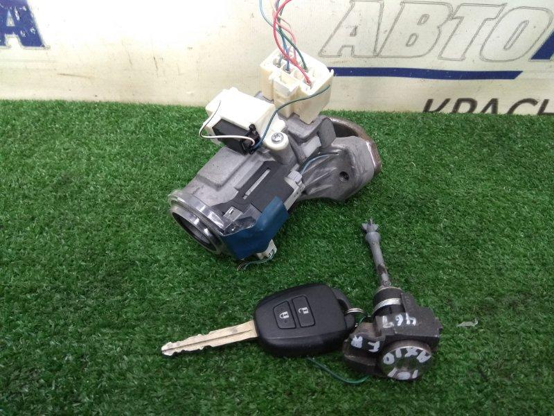Замок зажигания Toyota Corolla Axio NZE161 1NZ-FE 2012 1 ключ, с фишкой, с личинкой двери