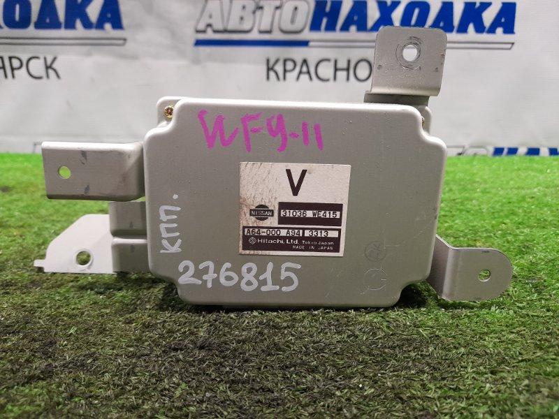 Компьютер Nissan Wingroad WFY11 QG15DE 2001 Блок управления АКПП, 2 модель.
