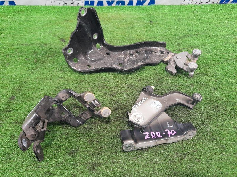 Ролик раздвижной двери Toyota Voxy ZRR70G 3ZR-FE 2007 задний левый комплект 3 штуки, с задней левой