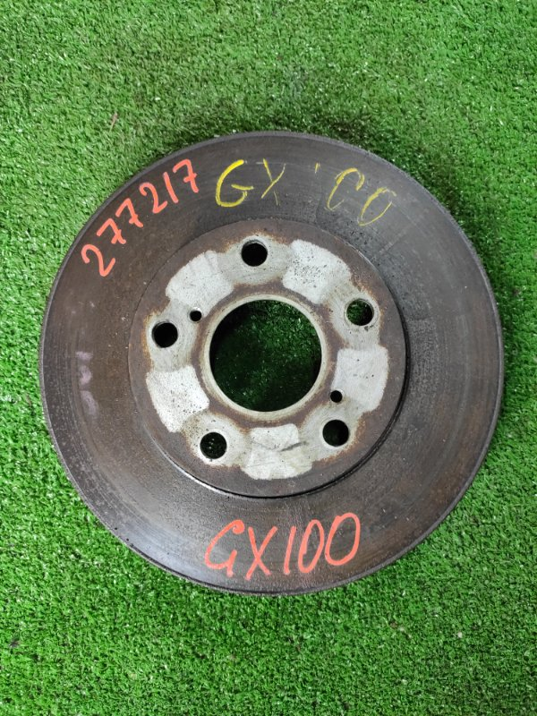 Диск тормозной Toyota Mark Ii GX100 1G-FE передний Ф275, T24, 5ШПИЛЕК