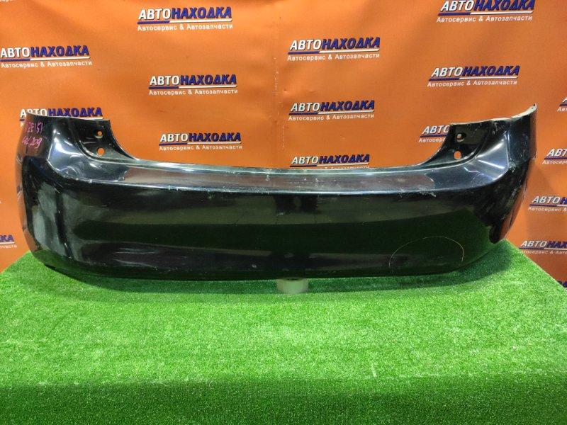 Бампер Toyota Auris NZE151 1NZ-FE 06.2007 задний 52159-12A40 ВМЯТИНА СПРАВА