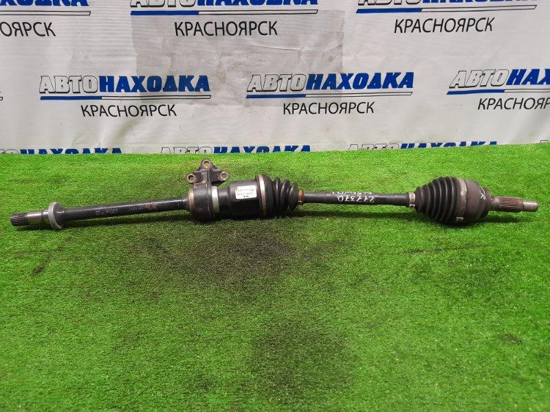 Привод Mazda Axela BL5FW ZY-VE 2009 передний правый FR, CVT, с подвесным, шлицы нар. 28, внутр. 23.