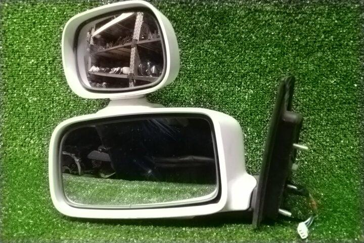 Зеркало Mitsubishi Lancer CS2A 4G15 переднее левое 010496 / 010838 3 КОНТАКТА, +ДОП.ЗЕРКАЛА,