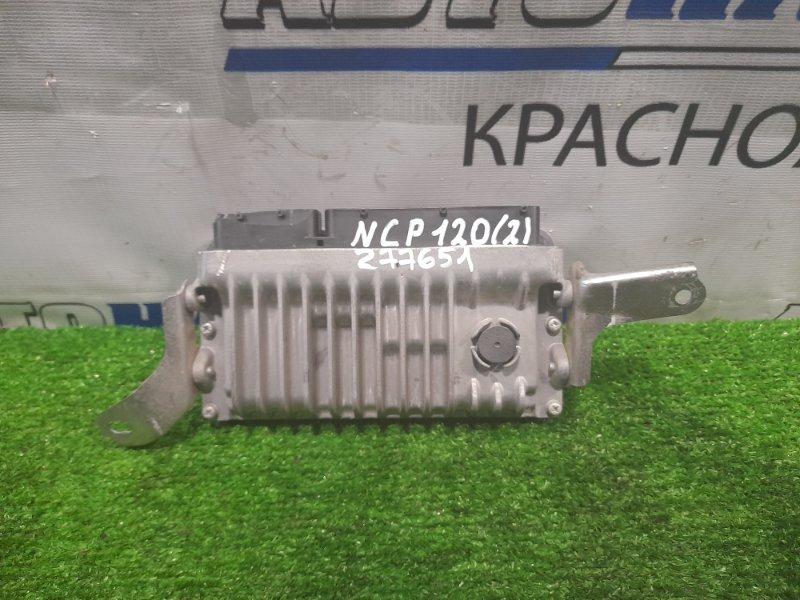 Компьютер Toyota Ractis NCP120 1NZ-FE 2010 блок управления ДВС