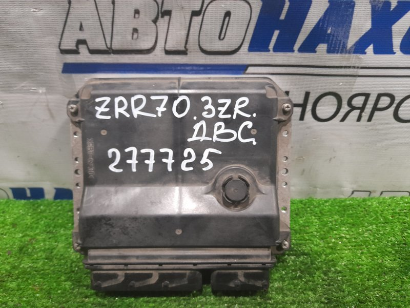 Компьютер Toyota Voxy ZRR70G 3ZR-FE 2007 блок управления ДВС