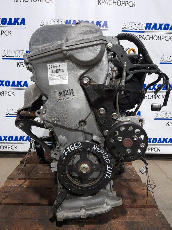 Двигатель Toyota Ractis NCP120 1NZ-FE 2010 E027267 № E027267 пробег всего 37 т.км. ОТС! С аукционного авто.