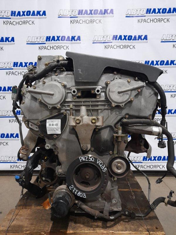 Двигатель Nissan Murano PNZ50 VQ35DE 2004 612308B № 612308B пробег 100 т.км. 2005 г.в. С аукционного авто.