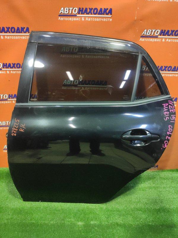 Дверь Toyota Auris NZE151 1NZ-FE 06.2007 задняя левая