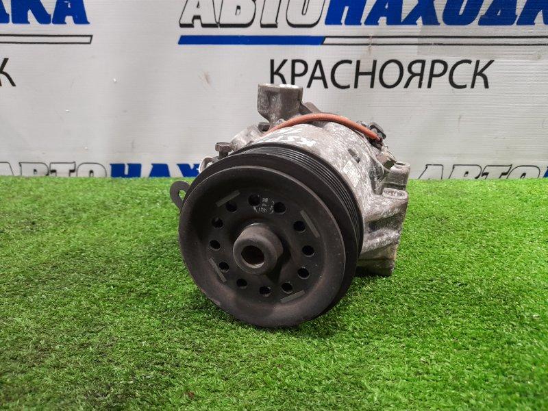 Компрессор кондиционера Toyota Belta KSP92 1KR-FE 2005 пробег 101 т.км. ХТС. С аукционного авто.