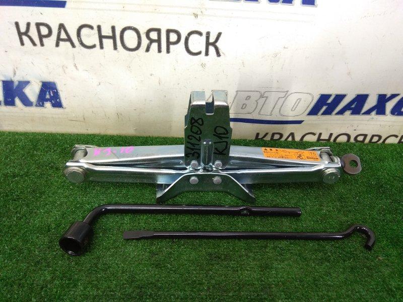 Домкрат Nissan Qashqai KJ10 MR20DE 2006 Грузоподъемность 1050 кг., высокая пятка, с ручкой-
