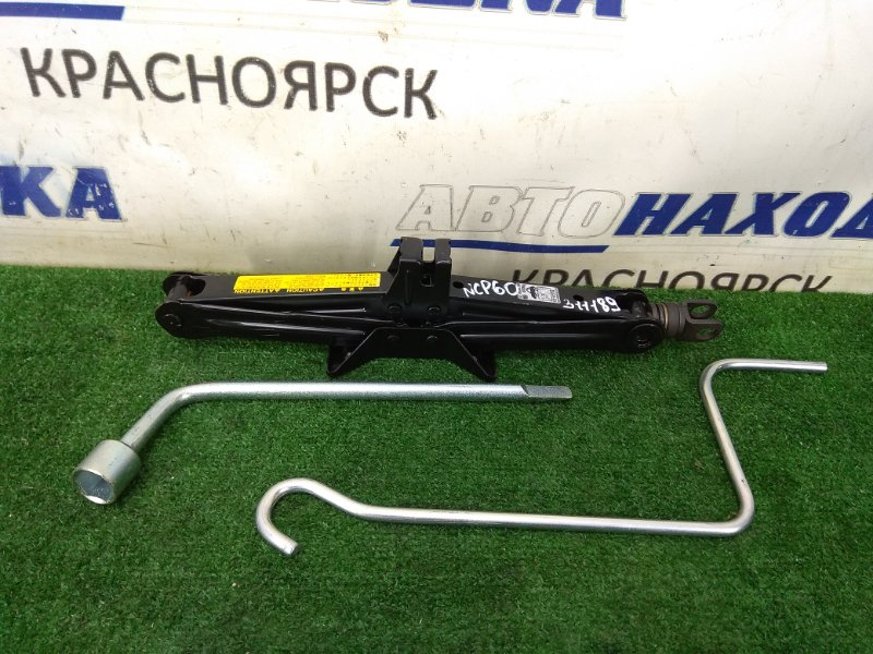 Домкрат Toyota Ist NCP60 2NZ-FE 2002 Грузоподъемность 800 кг., с ручкой, с балонником