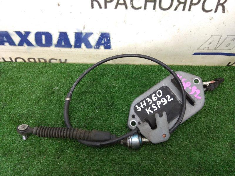 Трос кпп Toyota Belta KSP92 1KR-FE 2005 трос CVT