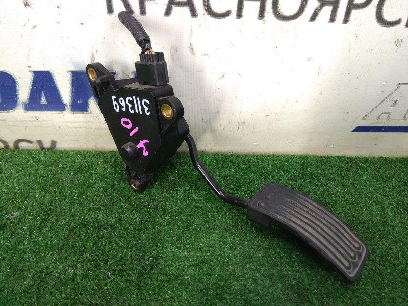 Педаль Nissan Qashqai J10 MR20DE 2007 газа, электронная, 6 контактов, с фишкой