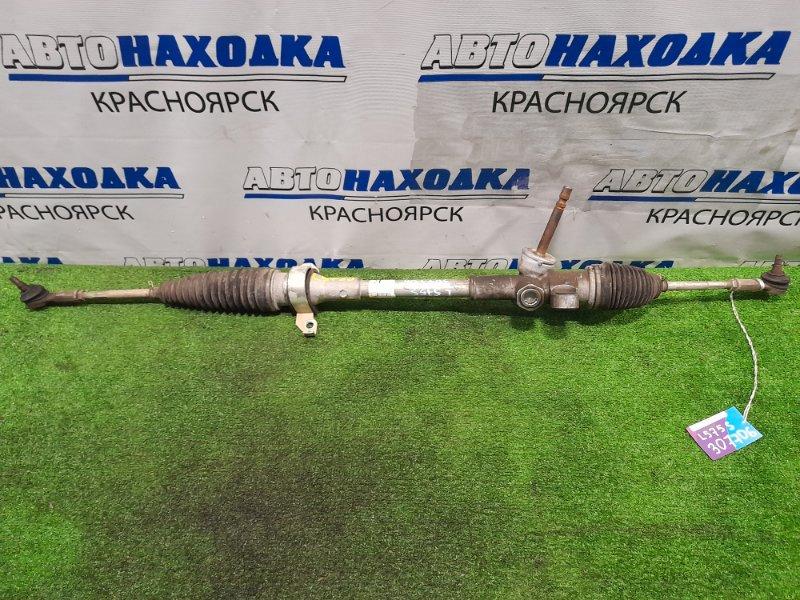 Рейка рулевая Daihatsu Move Conte L575S KF 2008 сухая, в сборе с тягами и наконечниками