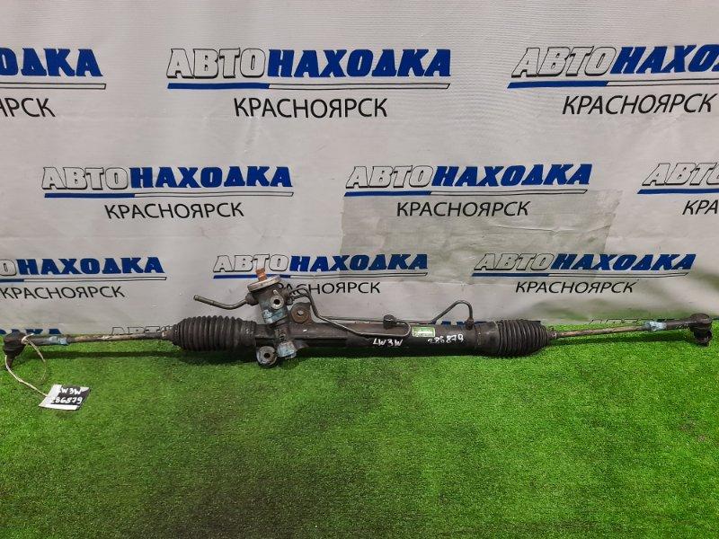 Рейка рулевая Mazda Mpv LW3W L3-DE 1999 Гидравлическая, в сборе с тягами и наконечниками,