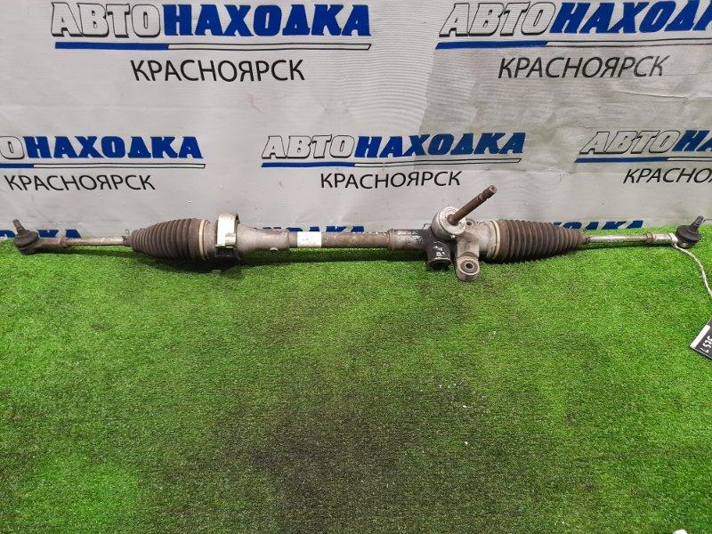 Рейка рулевая Daihatsu Move Conte L575S KF 2008 сухая, в сборе с тягами и наконечниками, один